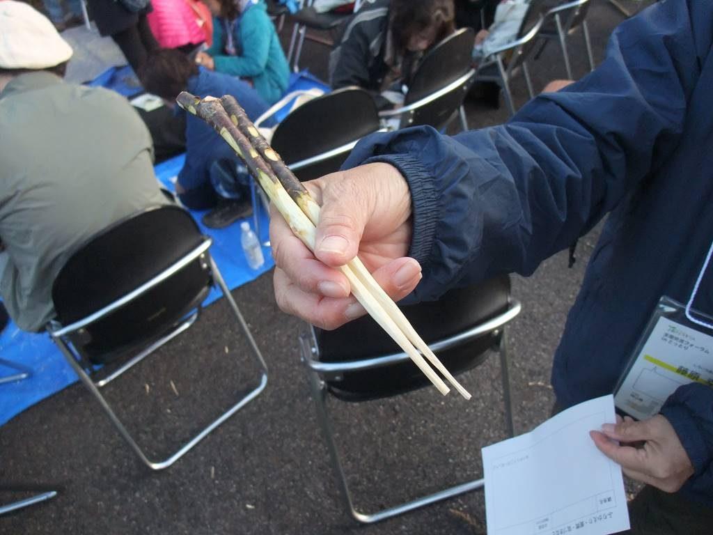 第14回森のようちえん 全国交流フォーラムINとっとり morinocoナイフ 子ども用 アウトドアナイフ
